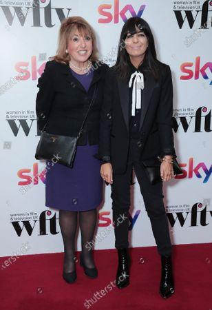 Stock Image of Eve Pollard and Claudia Winkleman