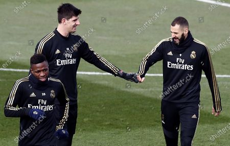 Editorial picture of Real Madrid training session, Spain - 06 Dec 2019