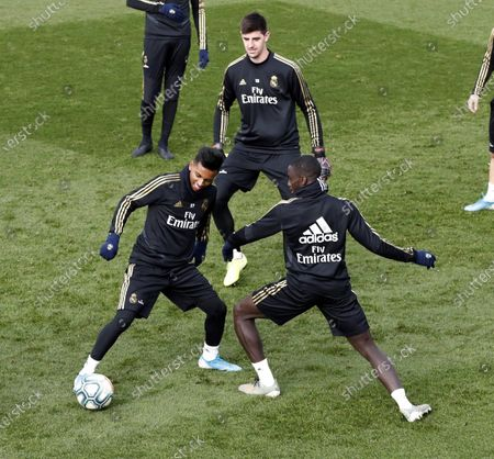 Editorial photo of Real Madrid training session, Spain - 06 Dec 2019