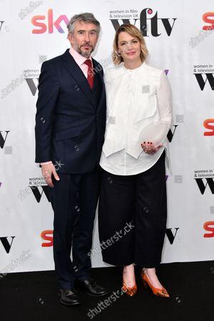 Steve Coogan and Faye Ward