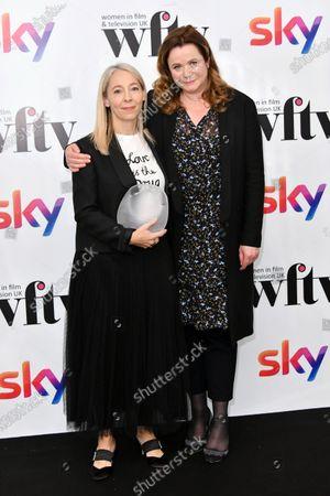 Jane Featherstone and Emily Watson
