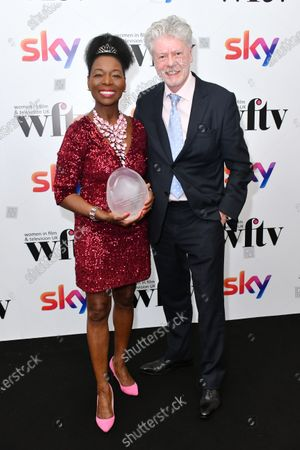 Editorial photo of Sky Women in Film and Television awards, London, UK - 06 Dec 2019