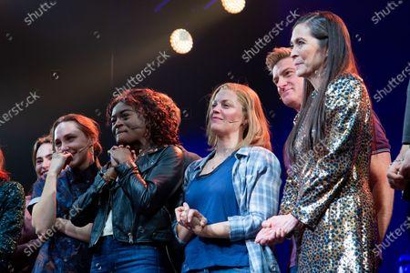Lauren Patten, Celia Rose Gooding, Elizabeth Stanley, Sean Allan Krill and Diane Paulus
