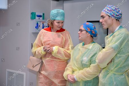 Editorial photo of Queen Mathilde visits Queen Fabiola University Children's Hospital in Brussels, Belgium - 06 Dec 2019