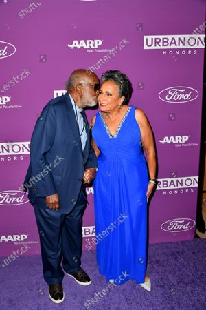 Clarence Avant and Urban One Founder & Chair Cathy Hughes
