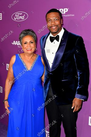 Urban One Cofounder & Chair Cathy Hughes and Co-Host Chris Tucker