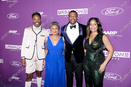 Billy Porter, Urban One Co-Founder & Chair Cathy Hughes, Co-Host Chris Tucker and TV One General Manager Michelle Rice