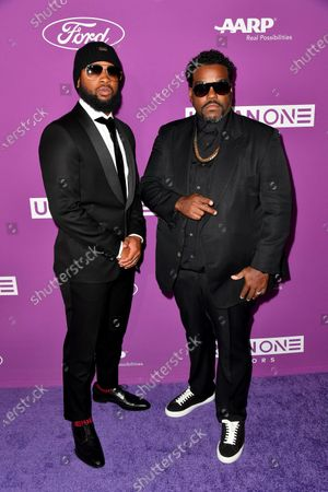 Stock Image of Rodney Jerkins and Jac Ross