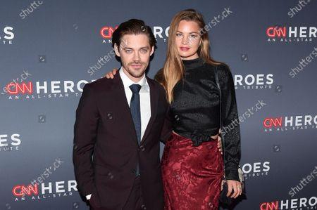 Tom Payne and Jennifer ?kerman