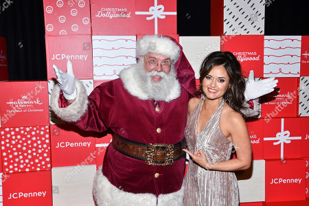 Editorial image of Christmas at Dollywood World Premiere, New York, USA - 05 Dec 2019