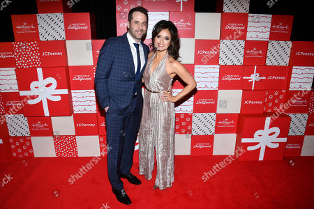 Danica McKellar, Niall Matter. Co-stars Danica McKellar and Niall Matter appear on the red carpet at the world premiere of Christmas at Dollywood hosted by JCPenney and Hallmark Channel at Village East Cinema, in New York. Christmas at Dollywood debuts on the Hallmark Channel Sunday, December 8 (8p.m. ET/PT, 7c