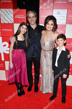 Danica McKellar, Josh Saviano. Wonder Years co-stars Danica McKellar and Josh Saviano and their kids appear at the red carpet world premiere of Christmas at Dollywood hosted by JCPenney and Hallmark Channel at Village East Cinema, in New York. The film debuts on the Hallmark Channel Sunday, December 8 (8p.m. ET/PT, 7c