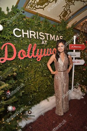 Christmas at Dollywood star Danica McKellar celebrates the film's world premiere hosted by JCPenney and Hallmark Channel at Village East Cinema, in New York. The film debuts on the Hallmark Channel Sunday, Dec. 8 (8p.m. ET/PT, 7c