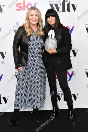 Stock Photo of Kirsty Young and Claudia Winkleman