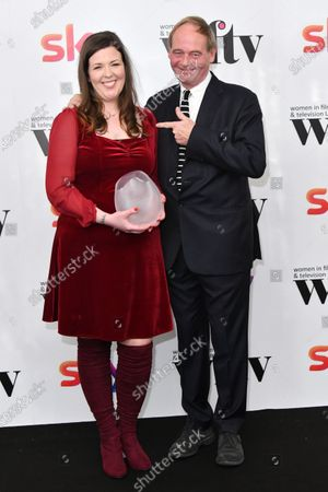 Lisa McGee and John Lloyd