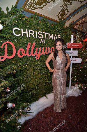 Editorial picture of Christmas at Dollywood World Premiere, New York, USA - 05 Dec 2019