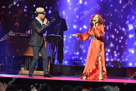 Stock Picture of Chante Moore and Eric Benet