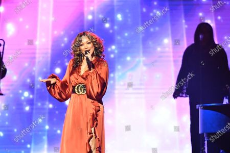 Chante Moore and Eric Benet