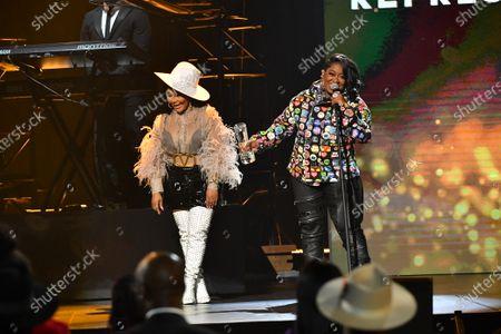Lil Kim and Missy Elliott