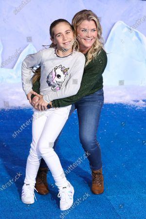 Stock Image of Alison Sweeney and Megan Sanov