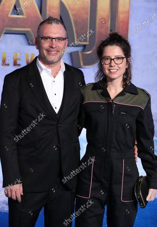 Stock Photo of Henry Jackman and Victoria De La Vega