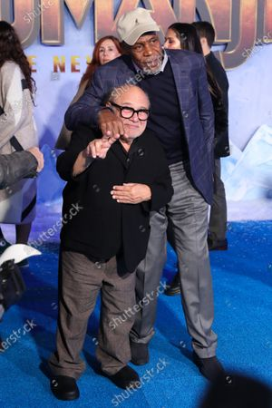 Danny DeVito and Danny Glover