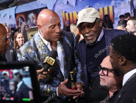 Dwayne Johnson and Danny Glover