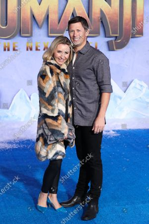Stock Photo of Beverley Mitchell and Michael Cameron