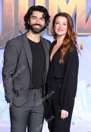Stock Image of Justin Baldoni and Emily Baldoni