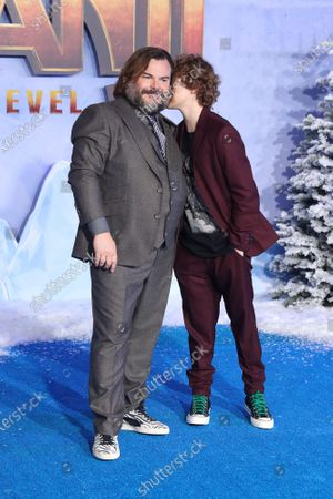 Stock Picture of Jack Black and Samuel Black