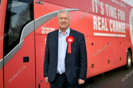 Stock Picture of Labour Party Chairman Ian Lavery