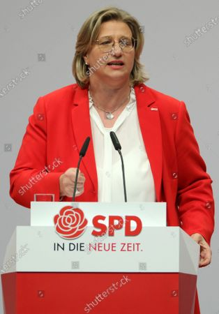 Editorial picture of SPD convention in Berlin, Germany - 06 Dec 2019
