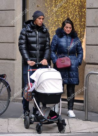 Editorial picture of Joao Miranda out and about, Milan, Italy - 06 Dec 2019