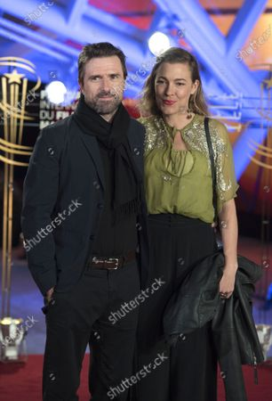 Stock Photo of David Michod and his wife Mirrah Foulkes attend the tribute to US actor and director Robert Redford speaks (unseen) during the 18th annual Marrakech International Film Festival, in Marrakech, Morocco, 06 December 2019. The film festival runs from 29 November to 07 December 2019.