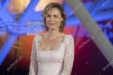 Radha Mitchell attends the tribute to US actor and director Robert Redford during the 18th annual Marrakech International Film Festival, in Marrakech, Morocco, 06 December 2019. The film festival runs from 29 November to 07 December 2019.