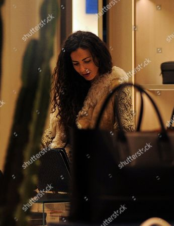 Editorial image of Laura Barriales out and about, Milan, Italy - 06 Dec 2019