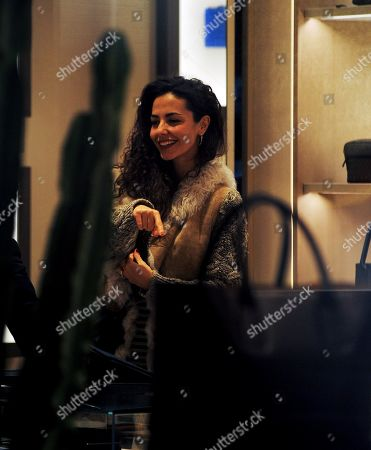 Editorial photo of Laura Barriales out and about, Milan, Italy - 06 Dec 2019