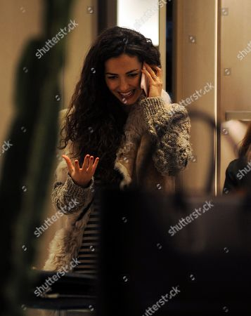 Editorial picture of Laura Barriales out and about, Milan, Italy - 06 Dec 2019