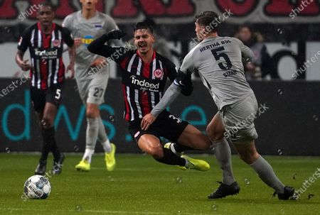 Stock Picture of 06.12.2019, Commerzbank - Arena, Frankfurt, GER, 1.FBL, Eintracht Frankfurt vs Hertha BSC , 