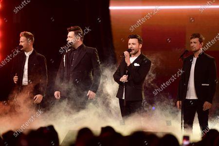 Westlife - Nicky Byrne, Mark Feehily, Shane Filan and Kian Egan