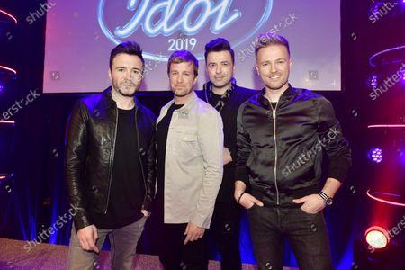Westlife - Shane Filan, Kian Egan, Mark Feehily and Nicky Byrne