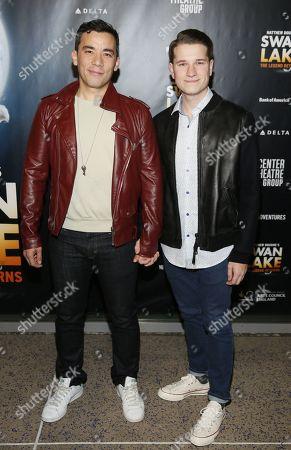 Conrad Ricamora and Josh Cockream