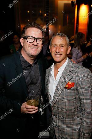 Stock Photo of Matthew Bourne and Adam Shankman
