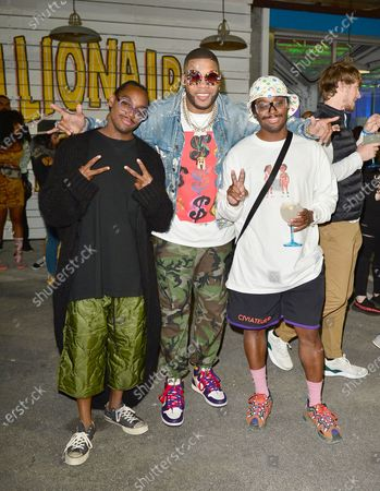 Ricky, Flo Rida and Andee