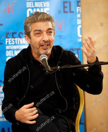 Stock Photo of Argentinian actor Ricardo Darin participates in a press conference in the framework of the 41st International Festival of New Latin American Cinema in Havana, in Havana, Cuba, 06 December 2019.