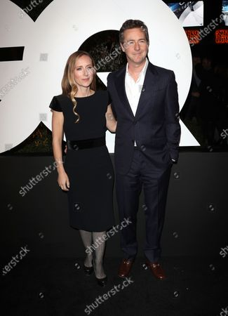 Shauna Robertson and Edward Norton