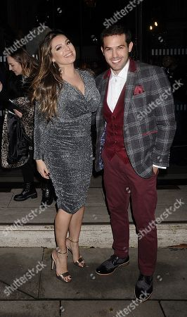 Kelly Brook and Jeremy Parisi