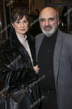 Editorial picture of 'Cyrano de Bergerac' play, Arrrivals, Press Night, London, UK - 06 Dec 2019