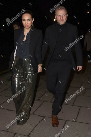 Stock Photo of Myleene Klass and Simon Motson