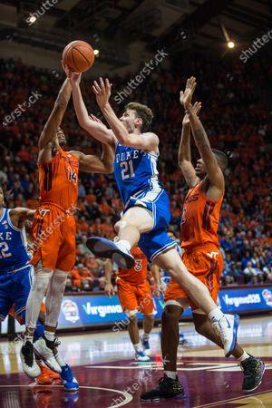 Editorial picture of NCAA Basketball Duke vs Virginia Tech, Blacksburg, USA - 06 Dec 2019